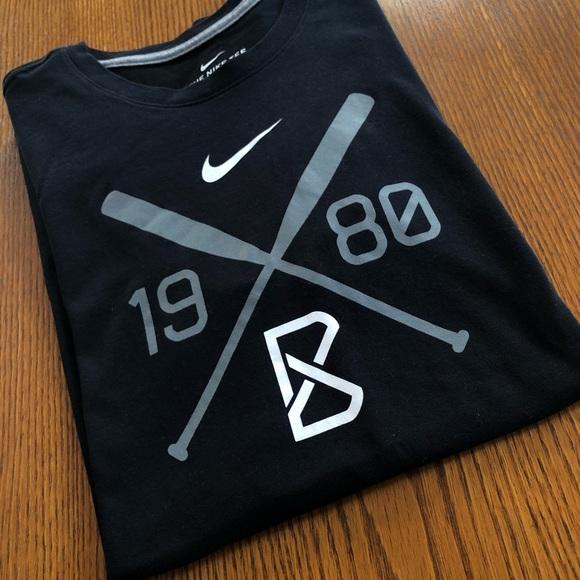 4a8666e5 Nike Shirts | Drifit Mens Black Bsbl Tshirt | Poshmark